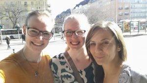 Dán szülésznőhallgatók beszámolója a nálunk töltött gyakorlati időről